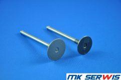 Zawór wydechowy głowicy silnik ISUZU 3KC1