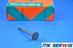 Zawór wydechowy głowicy silnik KUBOTA V3600
